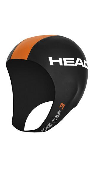 Head Neo - Gorros de natación - naranja/negro